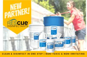 New Partnership – Virox™ Disinfectant Technologies!